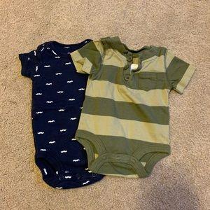Set of Newborn onesies